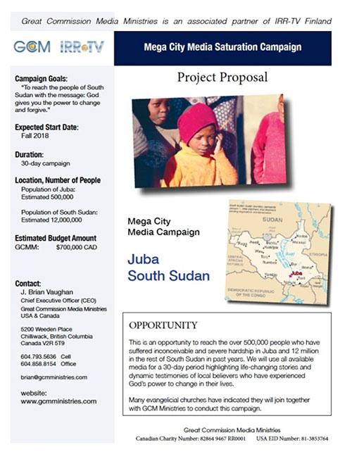 Campaña de medios sin precedentes en Sudán del Sur superó las expectativas 3