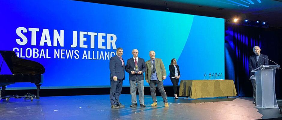 Jeter es el fundador y CEO de la agencia informativa Alianza Global de Noticias (GNA), socia de Evangélico Digital en la producción de El Informativo.