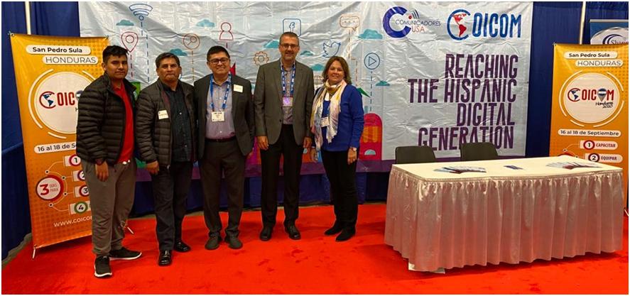COICOM presente en la Convención de la NRB 2020