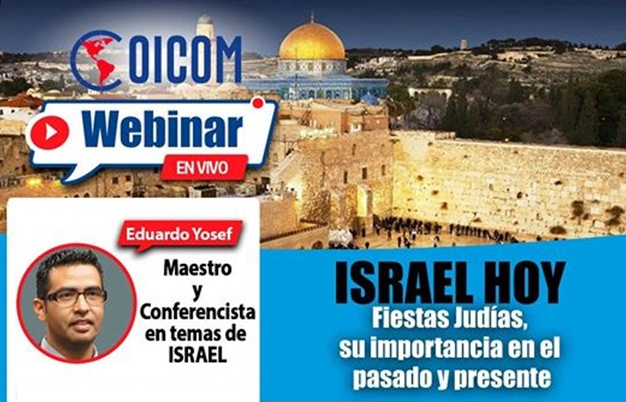 ESTE JUEVES HAGA UN VIAJE VIRTUAL HASTA ISRAEL A TRAVÉS DEL WEBINAR ISRAEL HOY 3