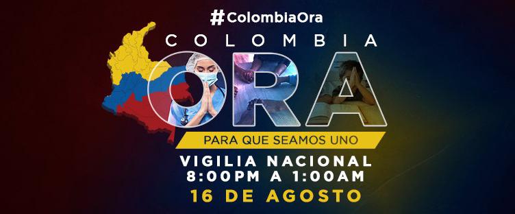 Vigilia de oracion en Colombia