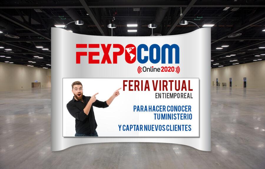 FEXPOCOM ONLINE RESERVE SU ESPACIO VIRTUAL SIN FRONTERAS 1