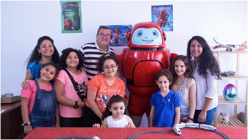 CBN llega a los niños de todo el Medio Oriente con Superbook 6
