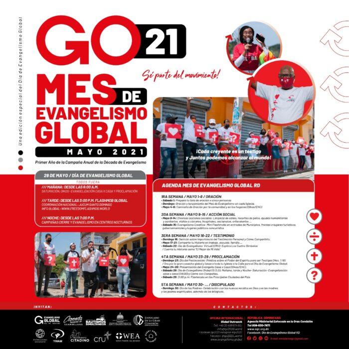 IGLESIAS DE REPÚBLICA DOMINICANA EQUIPADAS PARA EL MES DE EVANGELISMO GLOBAL 1