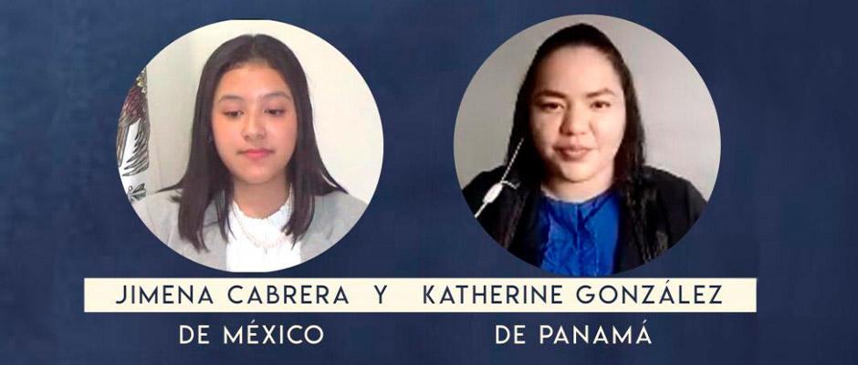 Jóvenes mexicana y panameña serán voceras provida ante la OEA 2