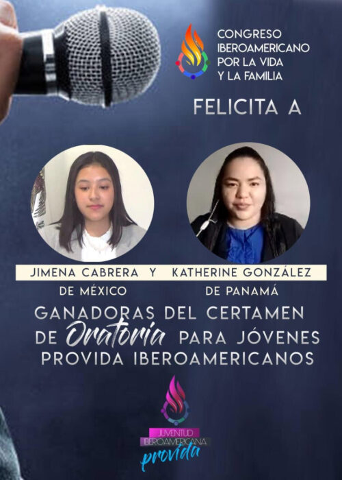 Jóvenes mexicana y panameña serán voceras provida ante la OEA 4