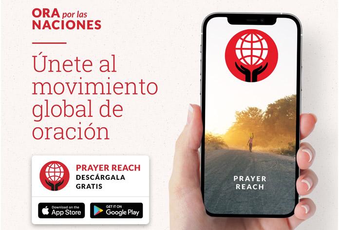 OM Internacional convoca a unirse al Movimiento Global de Oración a través de la app Prayer Reach